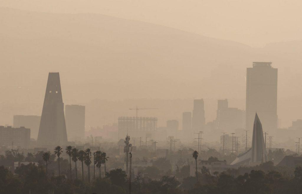 Contaminación en Ciudad de México.
