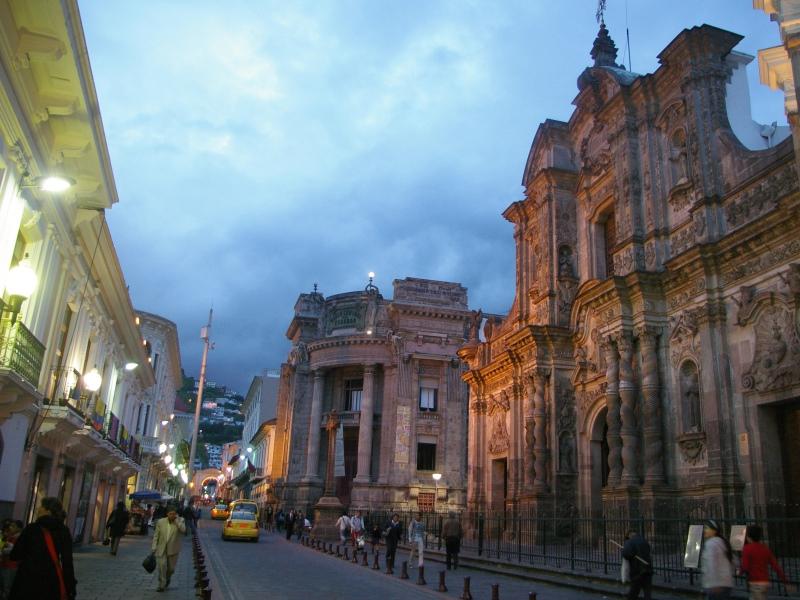 Centro Histórico de Quito. Foto: ONU-Habitat/Manuel Manrique