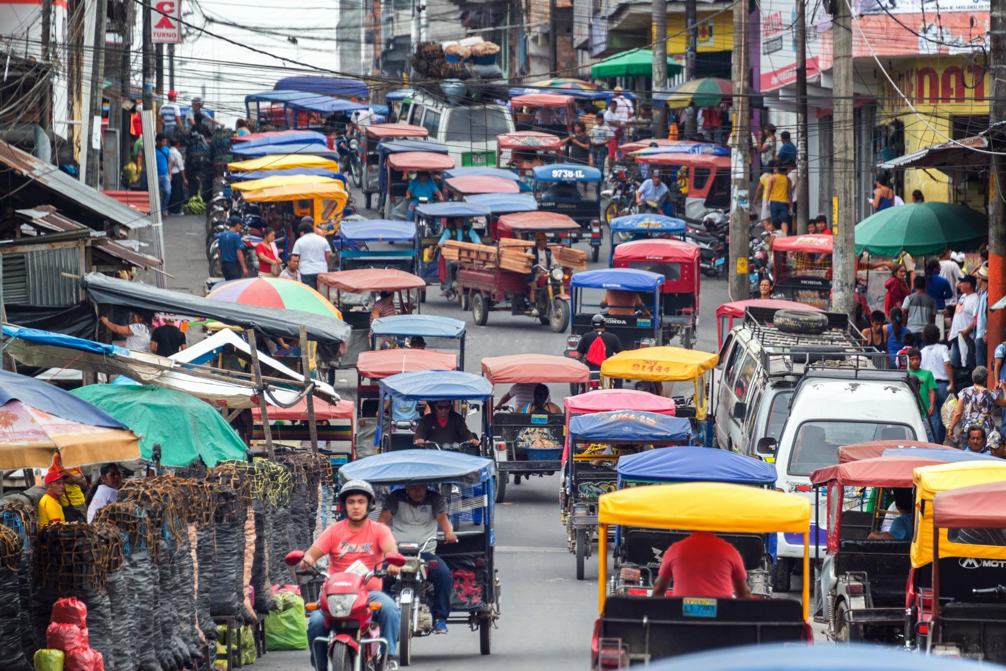 2. El 90% de las muertes por accidentes de tránsito se da en países de ingresos bajos y medianos. Lo paradójico es que estos solo tienen el 54% del parque mundial de vehículos matriculados. Foto: Jess Kraft - Shutterstock