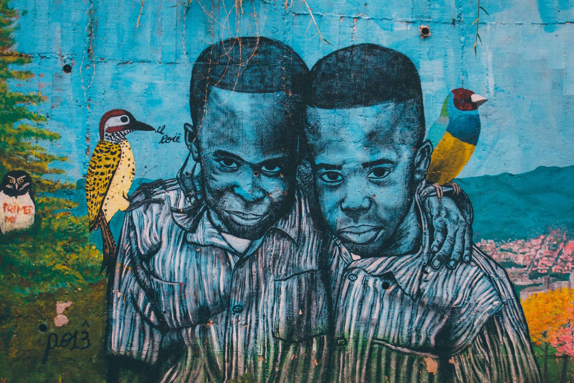 Este grafiti se ha mantenido a lo largo del tiempo y su autor es todavía un misterio en la zona.