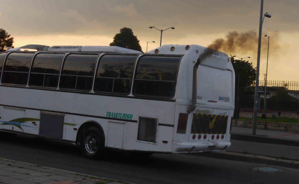 Aire de Manizales se ve afectado, en su mayoría, por los buses