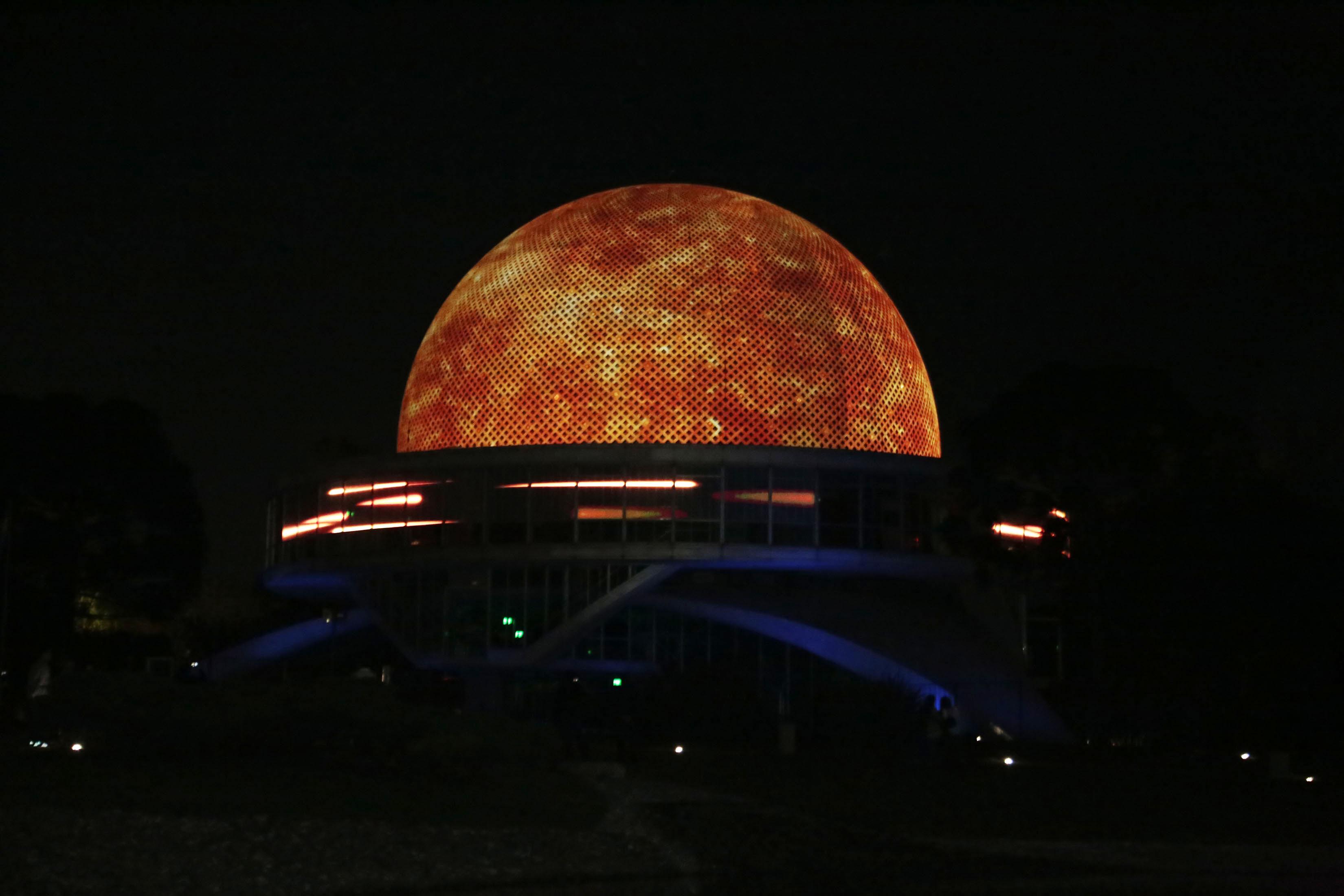 97a85be0ad82 El espacio será uno de los 25 planetarios de los 1.148 en todo el mundo que  contará con pantalla en definición 8k.