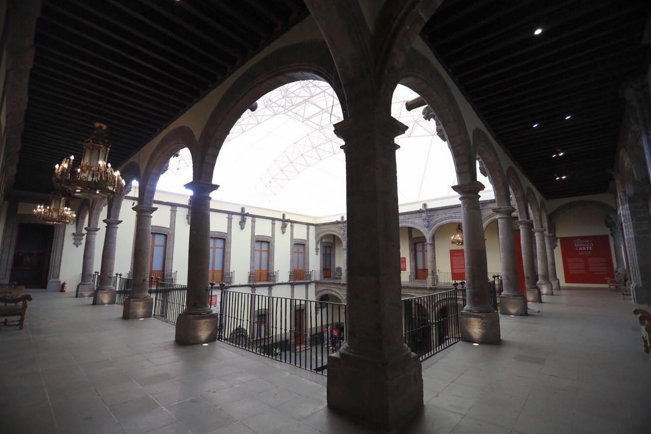 Las restauraciones en el museo Ciudad de México consistieron en el remozamiento de las fachadas, el arreglo de más de 30 puertas