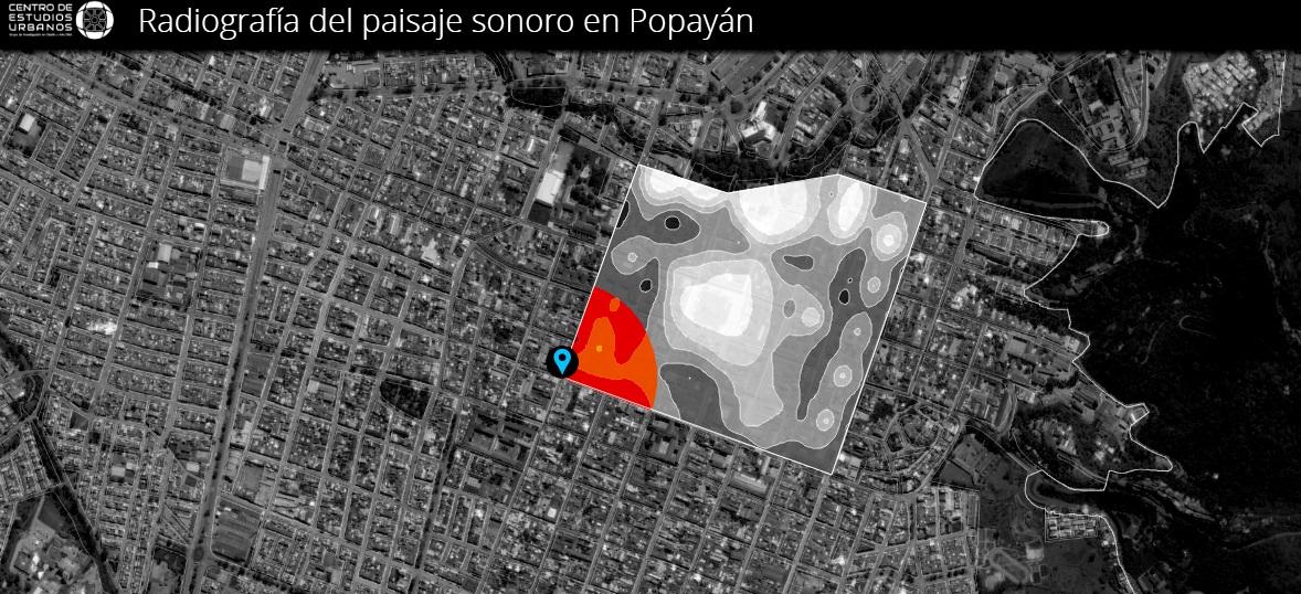 El ruido se toma el Centro Histórico de Popayán y supera niveles acústicos saludables