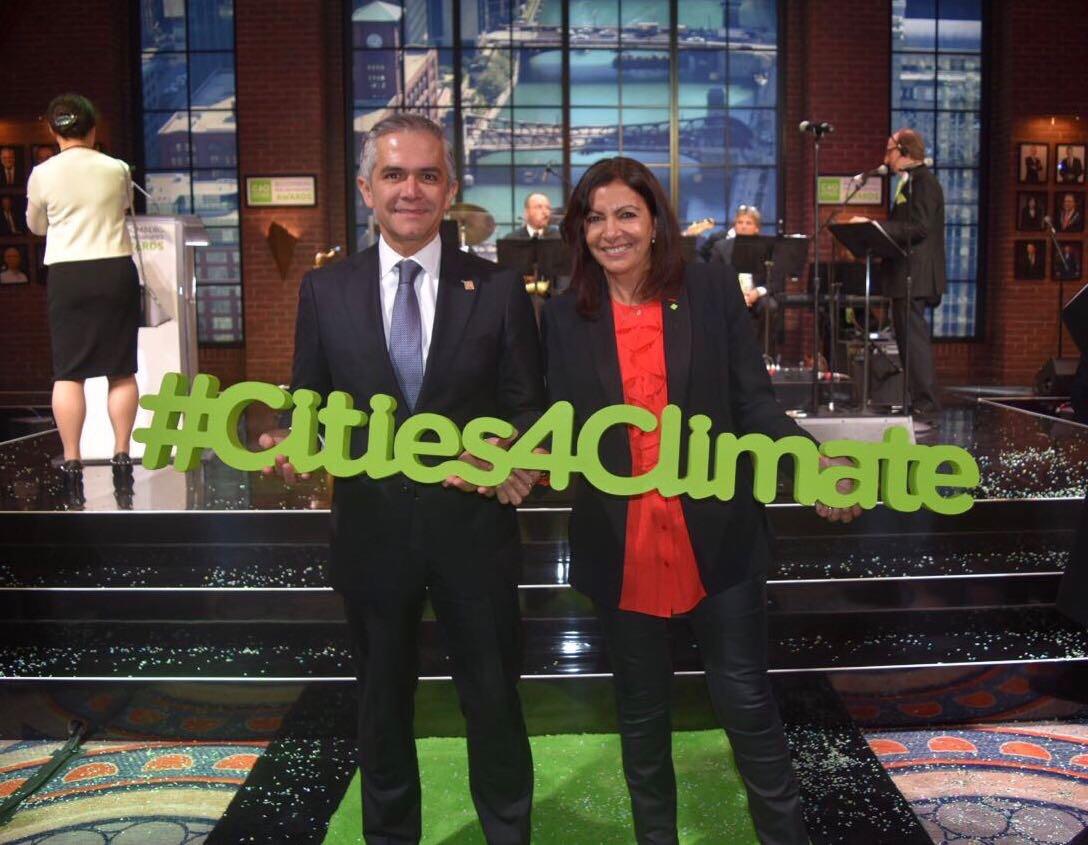 Programa de Acción Climática de la CDMX fue premiado por C40