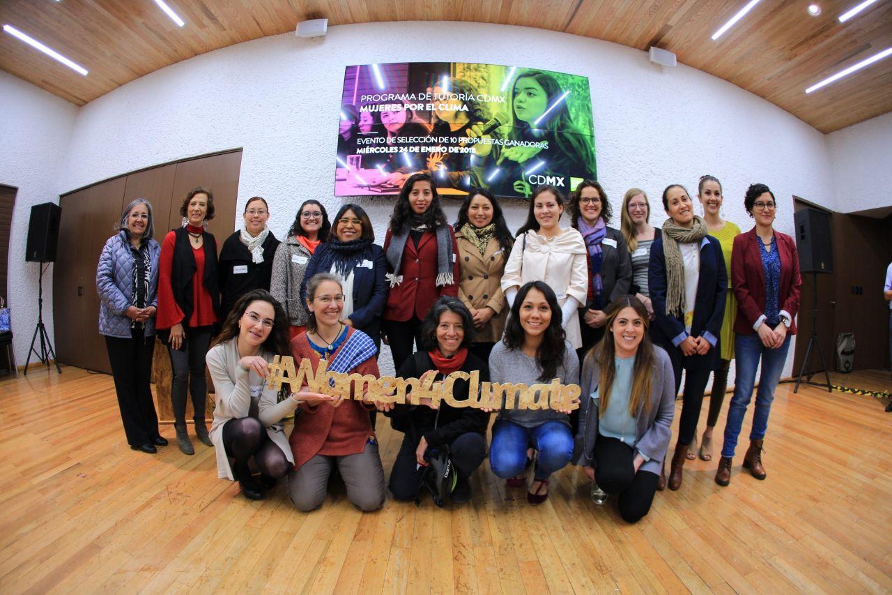 Ciudad de México premia a 10 mujeres y sus proyectos en favor del medio ambiente