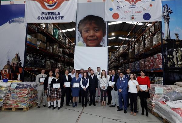 """Más de 100 mil beneficiados con la estrategia """"Puebla Comparte"""""""