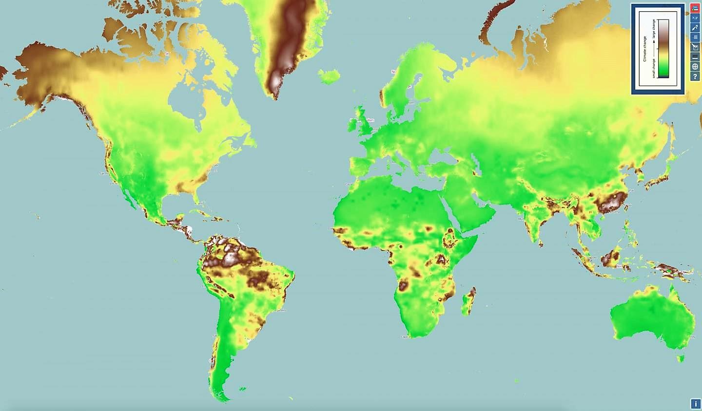 Nuevo mapa interactivo muestra el cambio climático en todo el mundo
