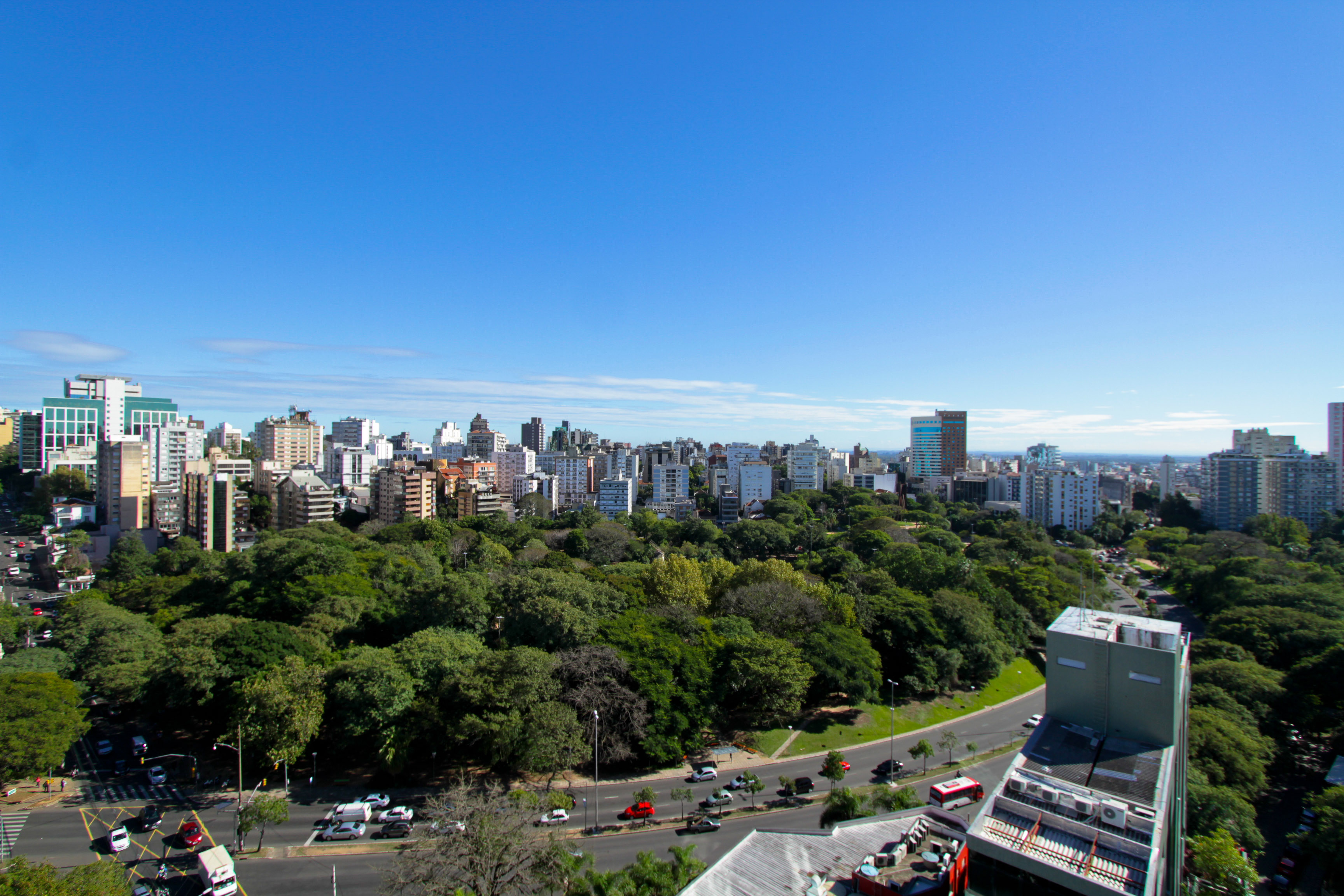 Céntrico parque de Porto Alegre presentó nuevo inventario de arborización