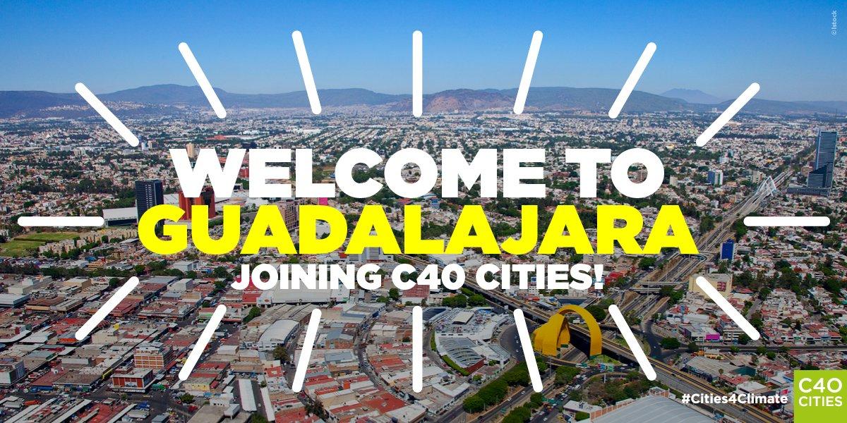 Guadalajara, nueva integrante de la Red C40
