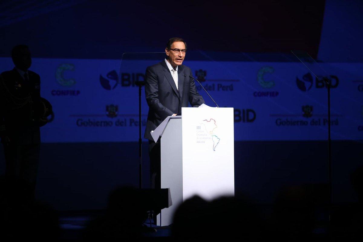 Comenzó en Lima la Cumbre Empresarial de las Américas