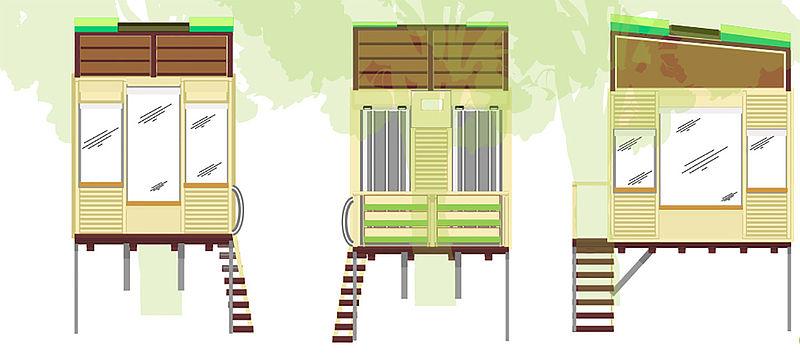 En Palmira, crean casa en el árbol que mitiga los impactos del ecoturismo