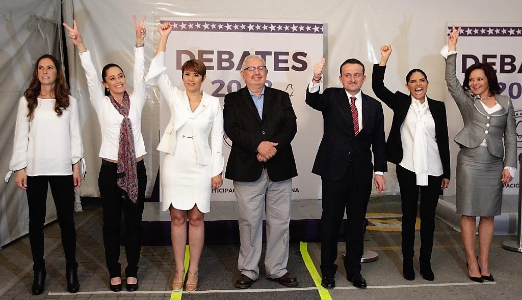 Candidatos debatieron sus propuestas económicas para Ciudad de México