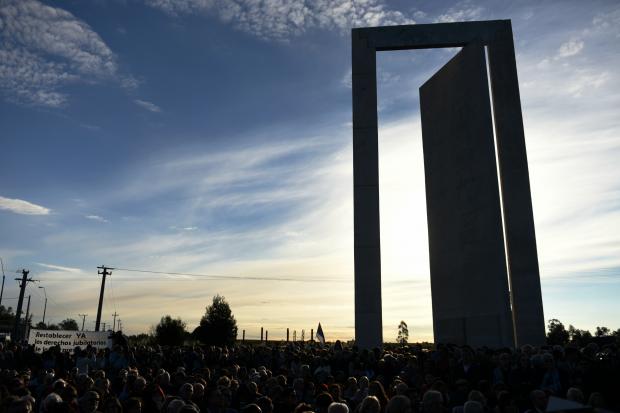 Montevideo rinde homenaje a los recluidos durante la dictadura