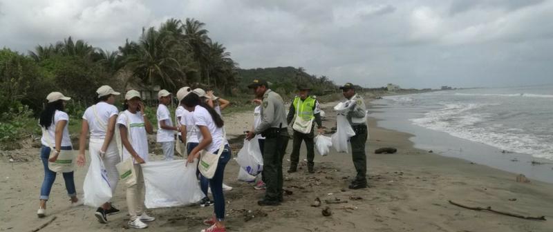 Más de 14 toneladas de residuos fueron recolectados en playas aledañas a Barranquilla