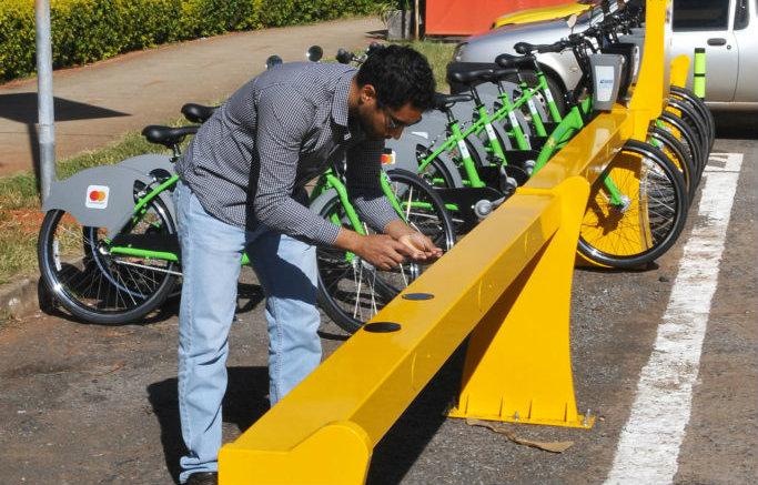 Brasilia tiene nuevas estaciones en su sistema de bicicletas públicas