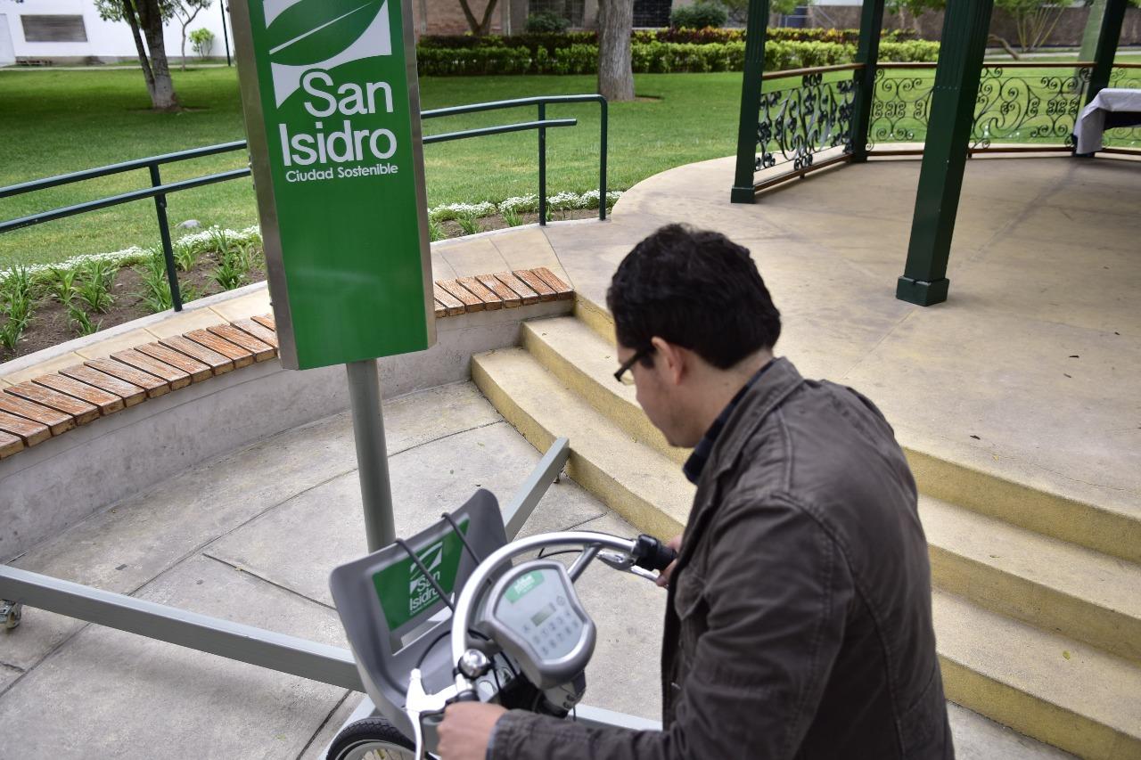 San Isidro ultima detalles para el primer sistema público de bicicletas del Perú