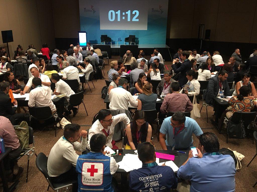 Cartagena es escenario de diálogo sobre prevención de desastres