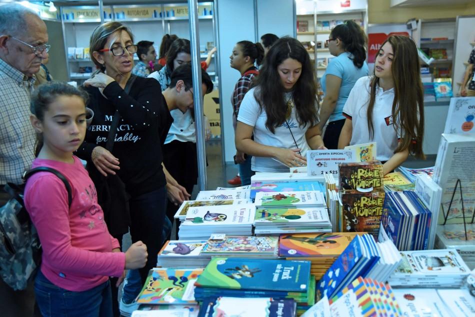 Más de 180 mil rosarinos se hicieron presentes durante la Feria del Libro