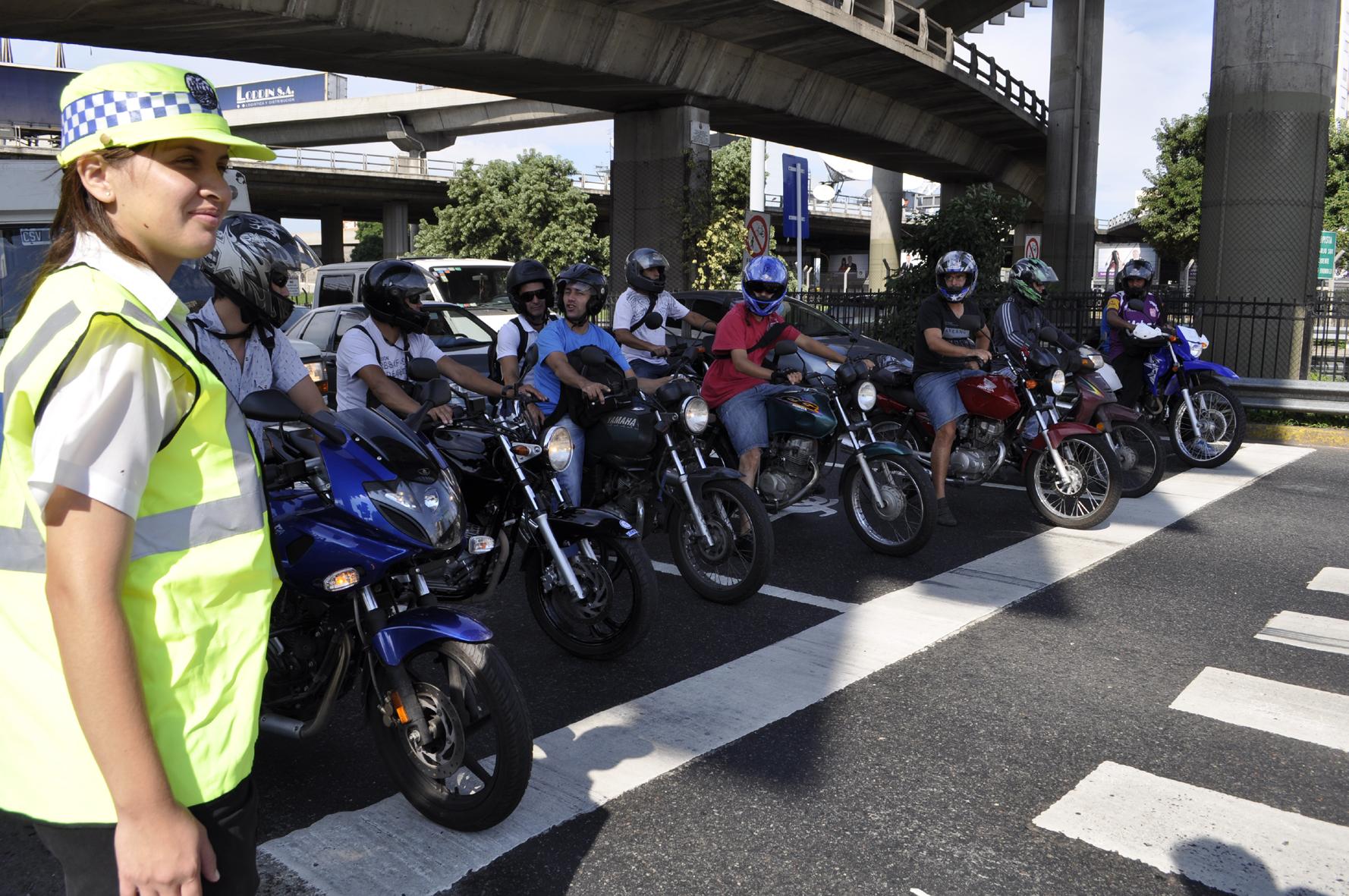 Buenos Aires ya tiene un Plan Metropolitano de Seguridad Vial para Motociclistas