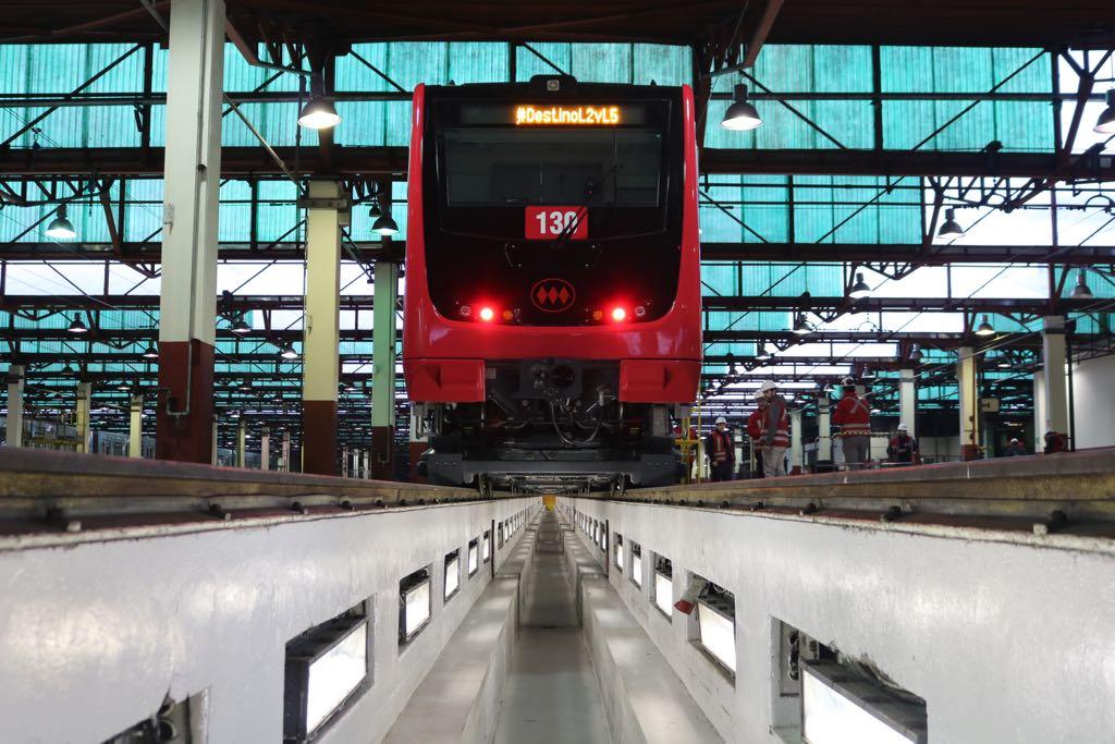 En el Metro de Santiago rodarán los primeros trenes ensamblados en Chile