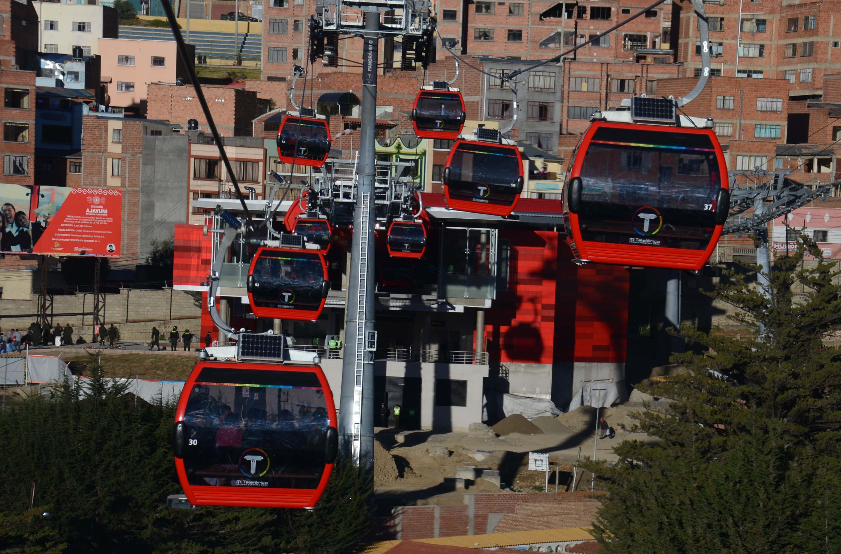 ¿Por qué Mi Teleférico de La Paz es un sistema de transporte modelo?