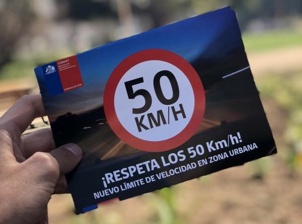 Aumentan multas por incumplimiento de nuevas velocidades urbanas en Chile