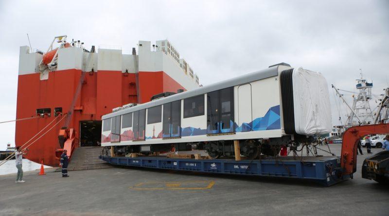 Quito recibe el primer tren para su sistema Metro