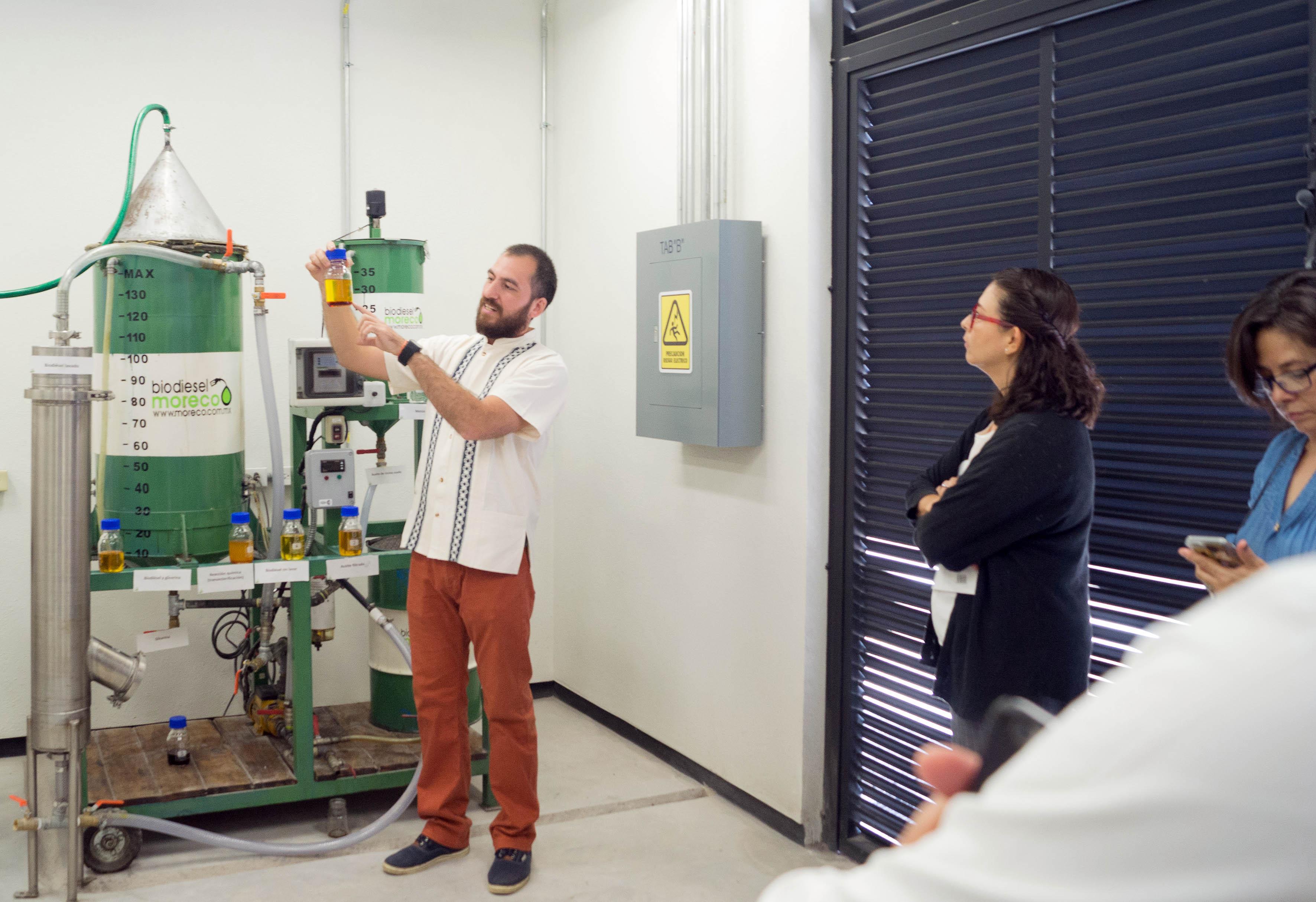 La UNAM inauguró un laboratorio para analizar la calidad de los biocombustibles