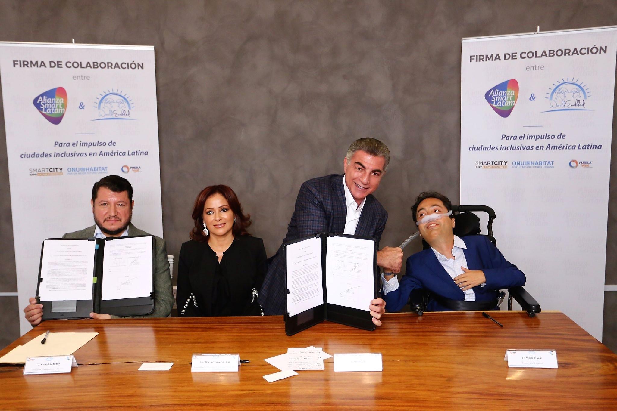 Firmado convenio para promover ciudades inclusivas en América Latina