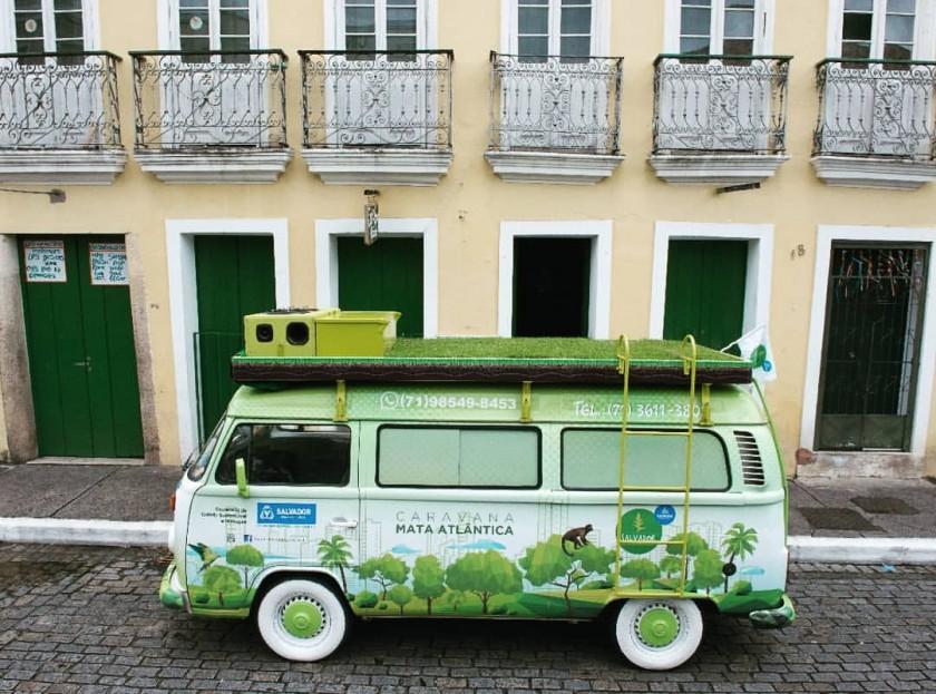 Canabrava y Caravana da Mata Atlântica: Educación y conservación en Salvador de Bahía
