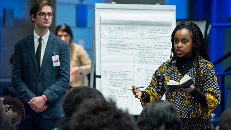 Jóvenes hablarán en Washington sobre cómo invertir en las personas