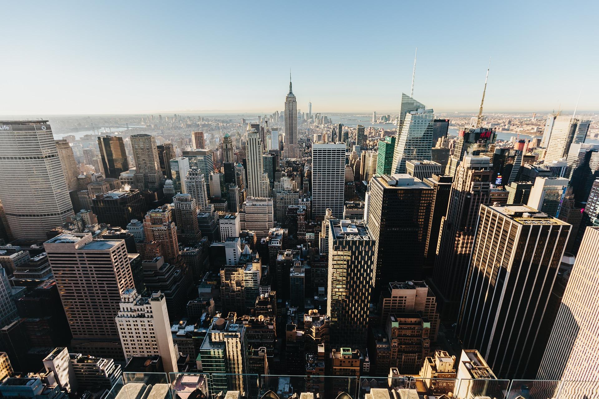 """En el puesto 9 de las preferencias de este grupo poblacional se encuentra la ciudad de Nueva York (Estados Unidos). El tiempo de permanencia de los viajeros en la """"capital del mundo"""" es de 12 días."""