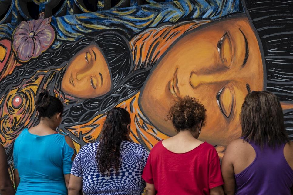 El mural de Tapachula que reivindica los derechos de las mujeres