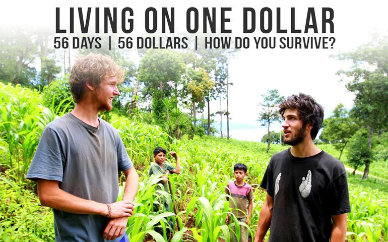 Living on one dollar: la empatía para hallar soluciones contra la pobreza