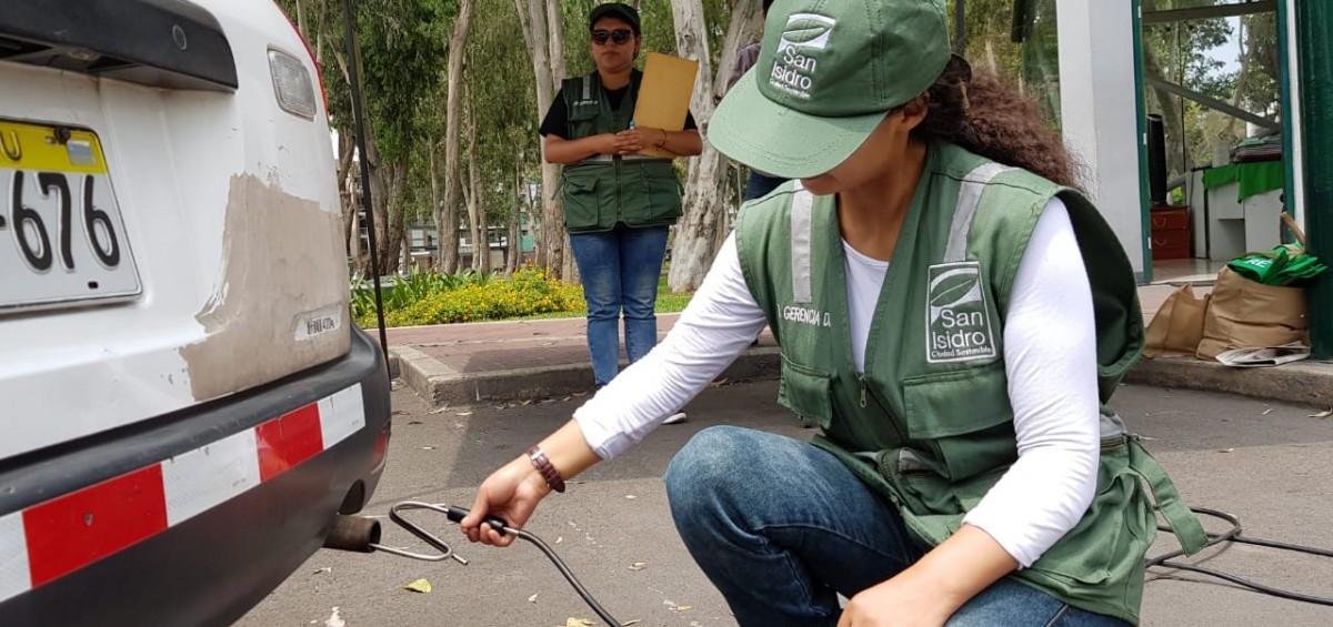 San Isidro lanzó la campaña 'Respira aire limpio'