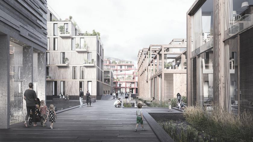 Arquitectos diseñan villa ecológica en Copenhague sustentada en los ODS