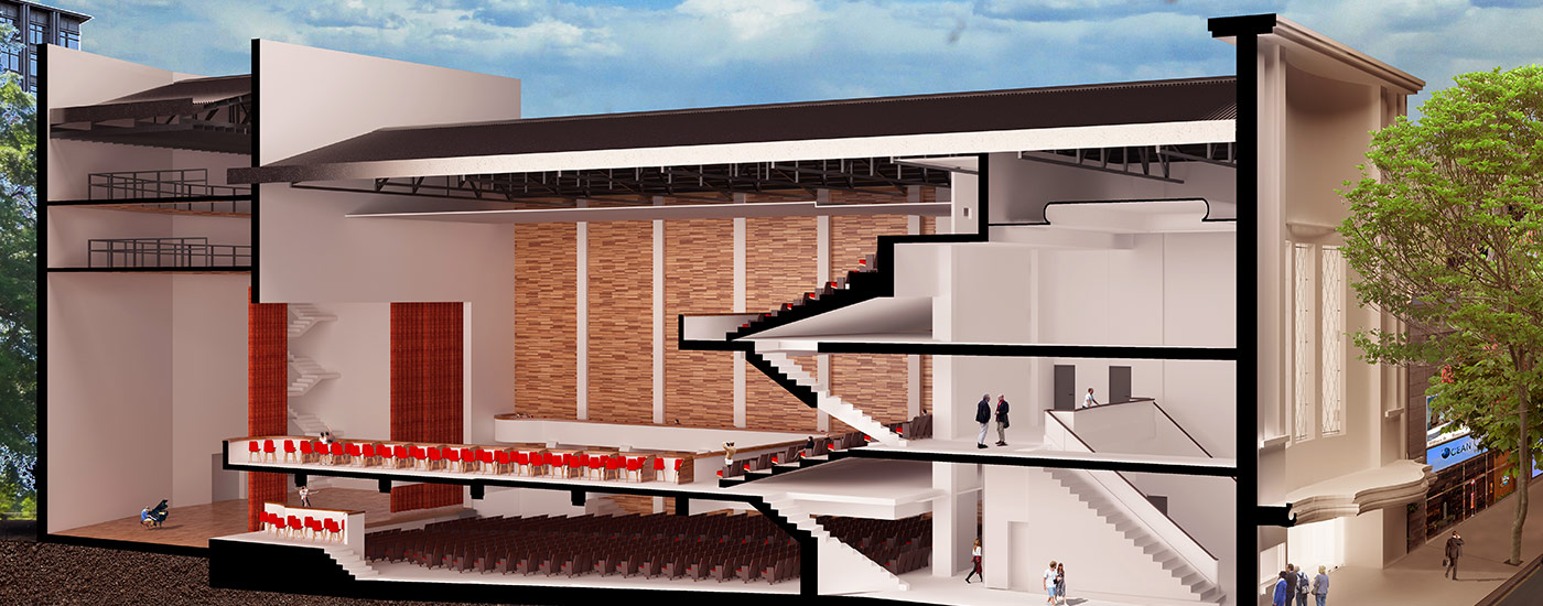 En abril estarían entregando el renovado Teatro Mendoza