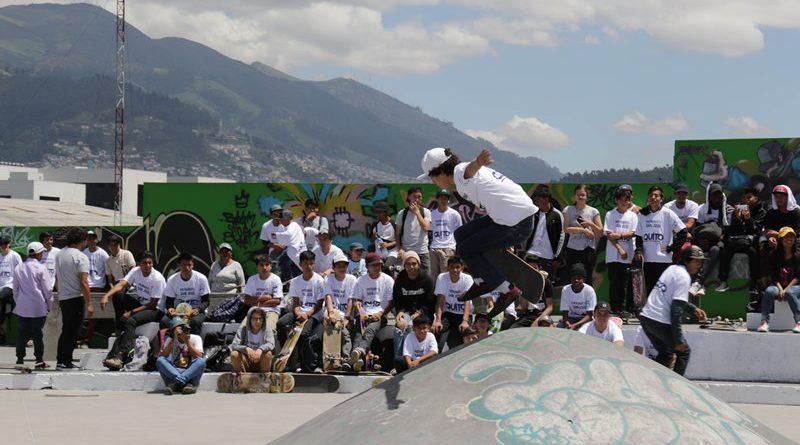 Quito realizó el primer festival de Skate y Break Dance
