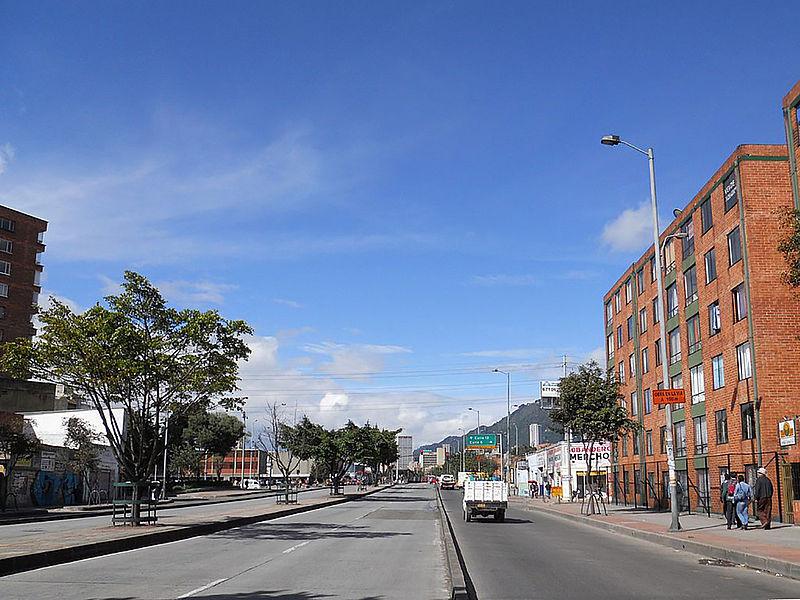 La Caracas, corredor de la historia bogotana