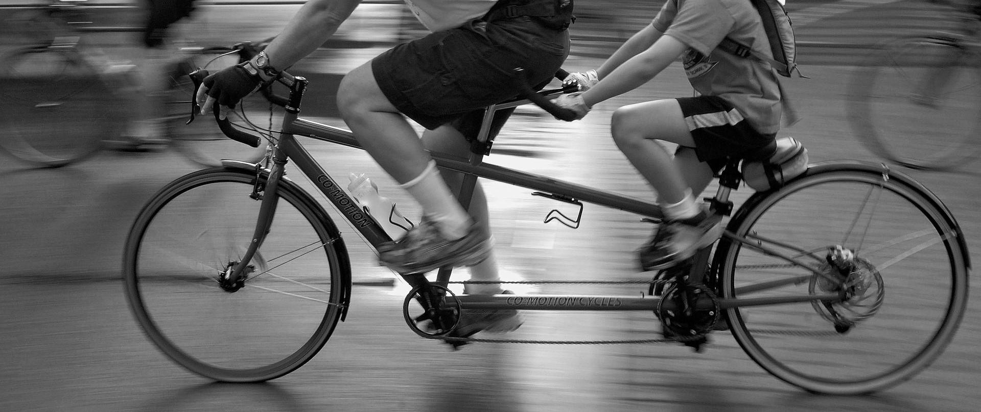 Ciegocleta: cuando montar en bicicleta no tiene límites