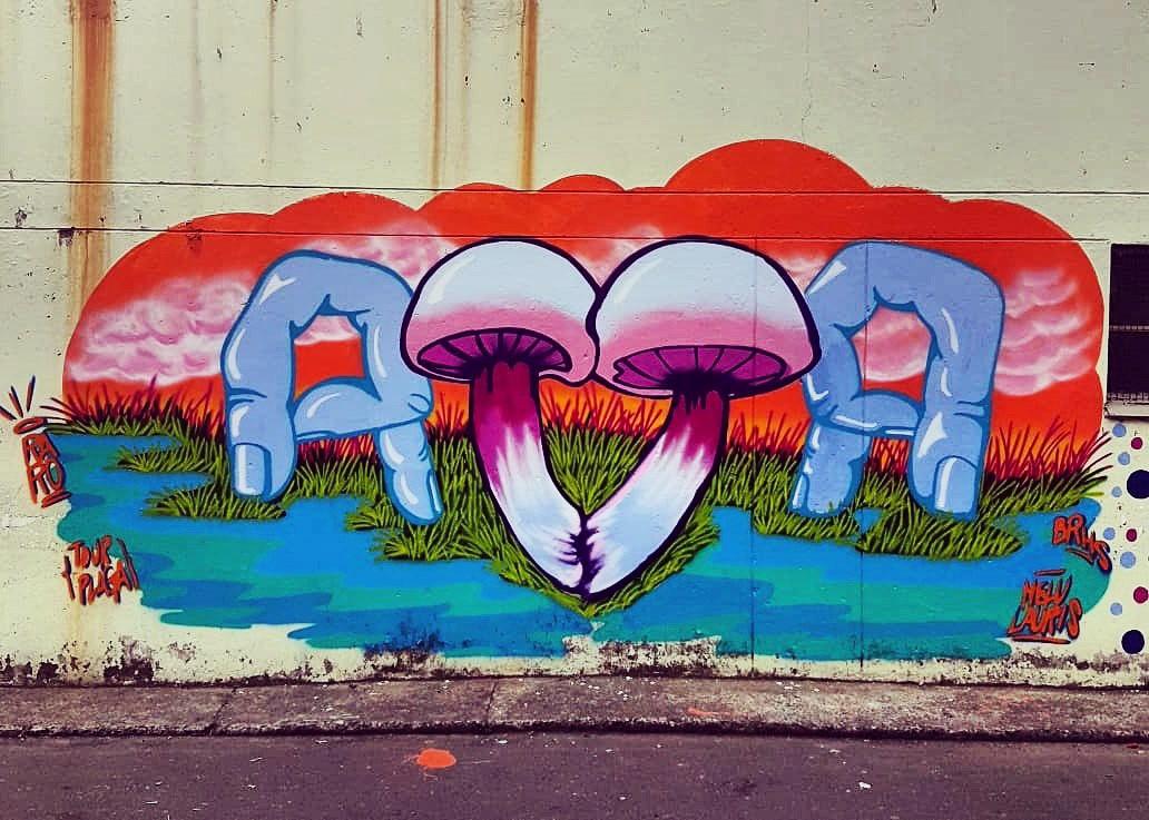 Mujeres y Graffiti en Medellín