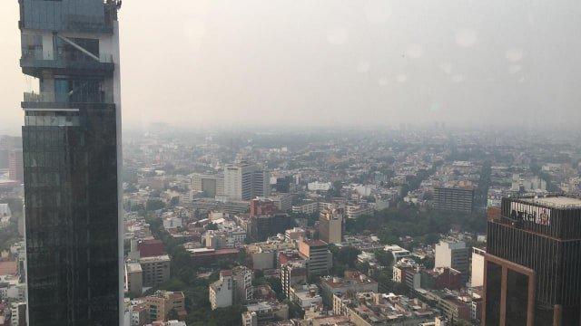 Ciudad de México tiene hoy un aire mortal