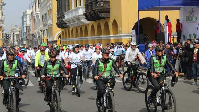Lima metropolitana celebró el Día Mundial de la Bici con cicleada masiva
