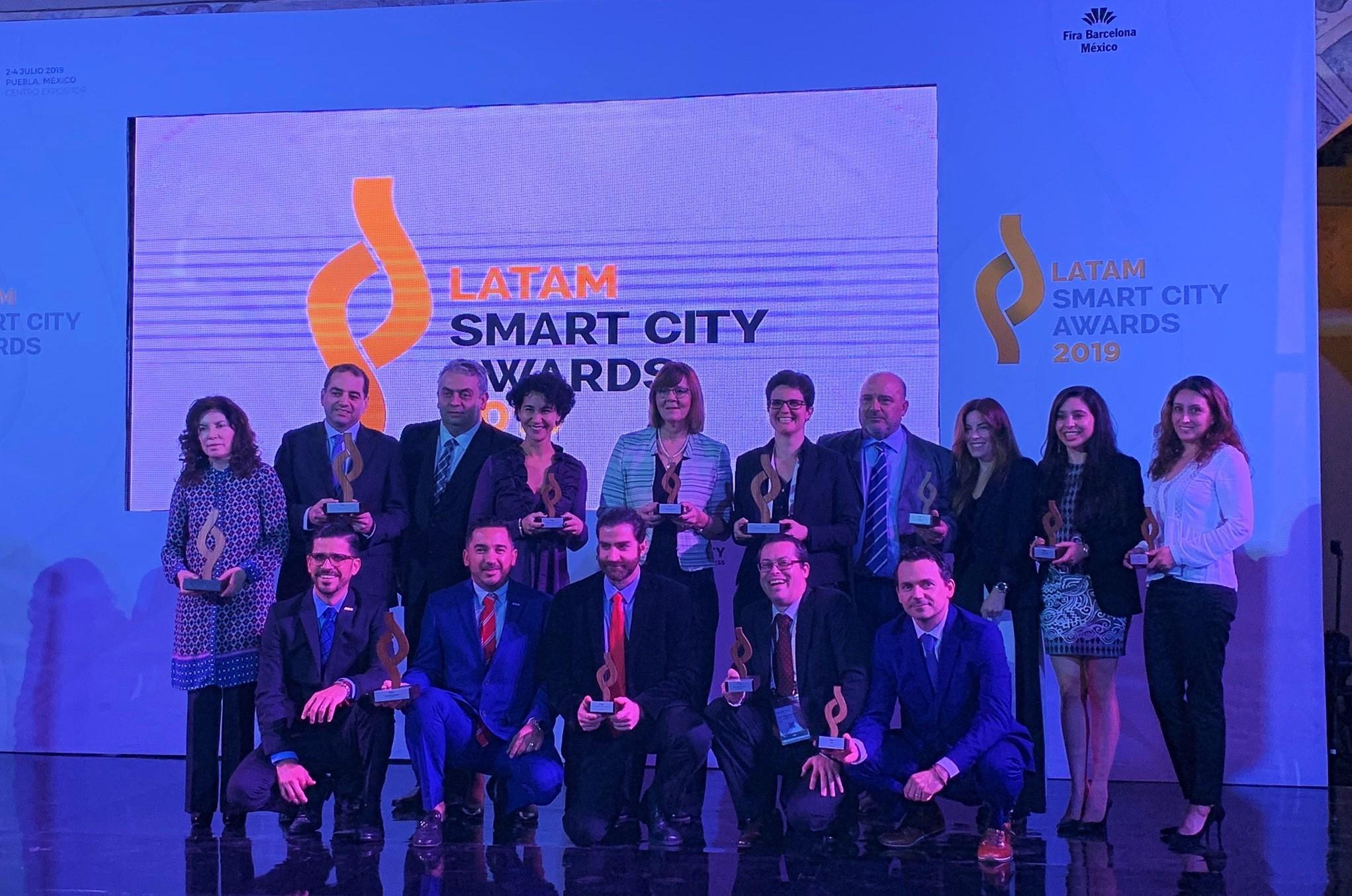Estos son los ganadores de los LATAM Smart City Awards 2019