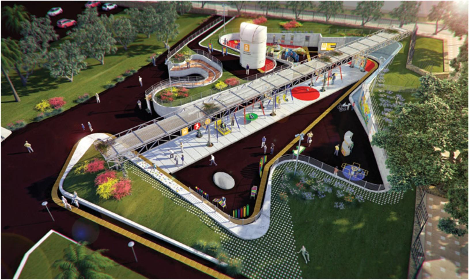 El Parque de la Amistad, ejemplo Latinoamericano de equidad e inclusión, crecerá hasta los 10 mil metros cudarados