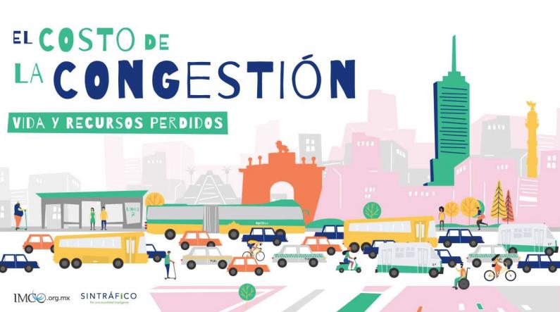 México pierde cada año 4.844 millones de dólares por congestiones vehiculares