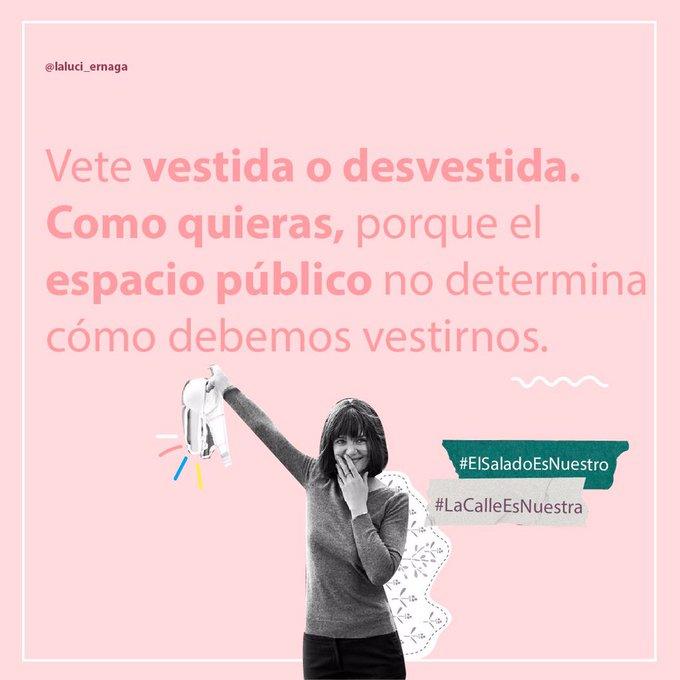 #LaCalleEsNuestra, mujeres por una ciudad sin abusos