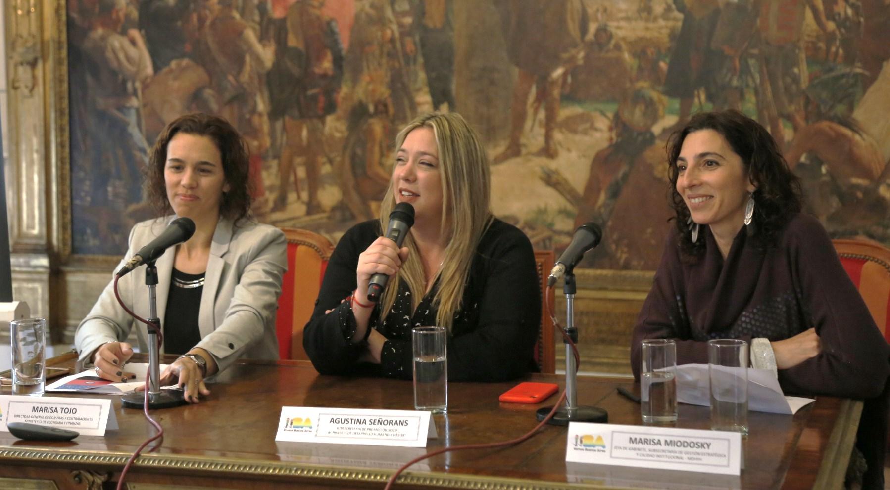 En Buenos Aires presentaron el 'Sello Empresa Mujer'