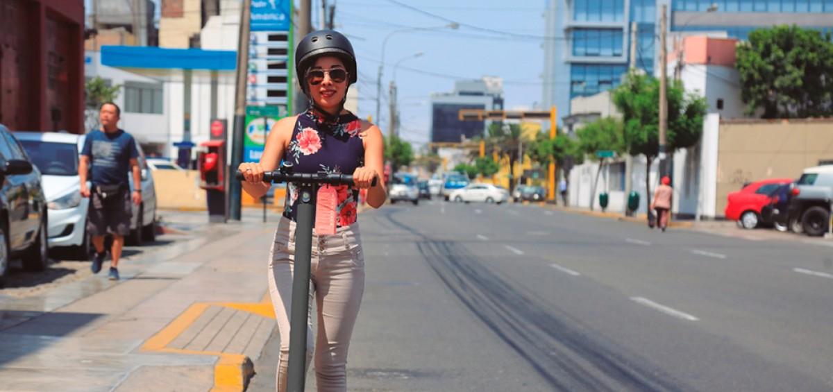 San Isidro reguló el uso de scooters en su territorio